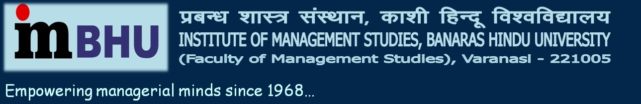 Welcome to Institute of Management Studies, BHU